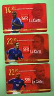RECHARGE SFR *** LE LOT *** Les Scans Representent Les Cartes En Vente  *** (A3-P22) - Cellphone Cards (refills)