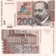 CROATIA 200 KUNA, 2012, P42b, UNCIRCULATED - Croatia