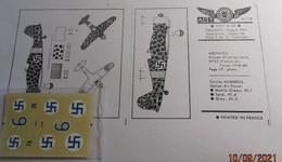 ABT21 Très Rare Décal Années 70 ABT : 1/72e SERIE FIAT G-50 FINLANDE 1941 - Decalcografie