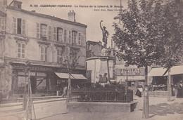 Clermont Ferrand La Statue De La Liberté Bd Desaix - Clermont Ferrand