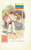H1109 - Illustrateur - LA POSTE Au VENEZUELA - Timbres (représentations)