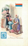 H1109 - Illustrateur - LA POSTE Au MONTENEGRO - Timbres (représentations)