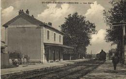 St GENIES Des MOURGUES  La GARE  Train Peu Courante RV - Altri Comuni