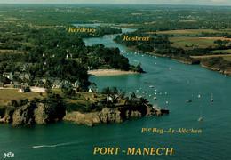 CPM - PORT-MANEC'H - L'Estuaire De L'Aven ... Edition Jack/Y.R.Caoudal - Lot De 2 CP - Névez