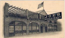 1939-Usa Cartolina Joe's Restaurant Coney Island Diretta In Italia - Zonder Classificatie