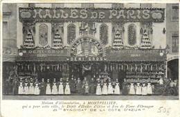 Maison D' Alimentation à MONTPELLIER  HALLES DE PARIS  Depot D'Huiles D' Olives Et Eau De Fleurs D' Orangers RV - Montpellier