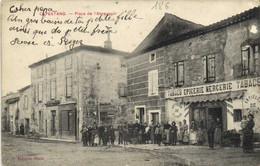 CAPESTANG  Place De L'Abreuvoir Tabacs Epicerie Mercerie Articles De Peche Et De Chasse - Capestang