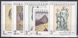 ** Tchécoslovaquie 1980 Mi 2590-4 (Yv 2415-9), (MNH) - Nuevos