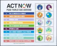 Italia 2021 Lotto 3 Foglietti Nuovi Perfetti - Blocks & Sheetlets