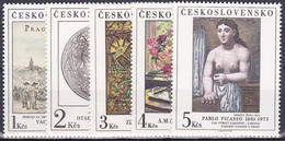 ** Tchécoslovaquie 1981 Mi 2641-5 (Yv 2464-8), (MNH) - Nuevos