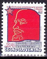 ** Tchécoslovaquie 1982 Mi 2647 (Yv 2473), (MNH) - Nuevos
