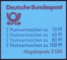 26a MH SWK 5,- DM Blau, 50 Mm, VS-O Frankfurt/Main - Markenheftchen