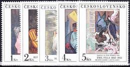 ** Tchécoslovaquie 1982 Mi 2692-6 (Yv 2512-6), (MNH) - Nuevos