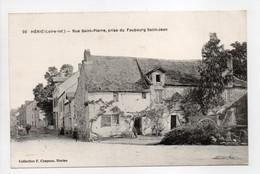 - CPA HÉRIC (44) - Rue Saint-Pierre, Prise Du Faubourg Saint-Jean - Edition Chapeau N° 20 - - Other Municipalities