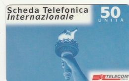 PREPAID PHONE CARD ITALIA TELECOM (E77.17.8 - Schede GSM, Prepagate & Ricariche