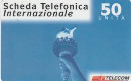 PREPAID PHONE CARD ITALIA TELECOM (E77.19.6 - Schede GSM, Prepagate & Ricariche