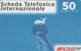 PREPAID PHONE CARD ITALIA TELECOM (E77.23.6 - Schede GSM, Prepagate & Ricariche