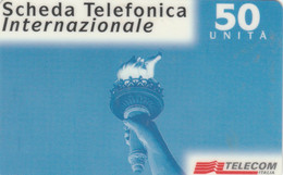 PREPAID PHONE CARD ITALIA TELECOM (E77.23.7 - Schede GSM, Prepagate & Ricariche