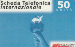 PREPAID PHONE CARD ITALIA TELECOM (E77.27.4 - Schede GSM, Prepagate & Ricariche
