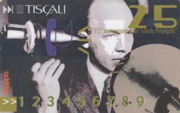 PREPAID PHONE CARD ITALIA TISCALI 25 ANN (E77.40.2 - [2] Tarjetas Móviles, Prepagadas & Recargos