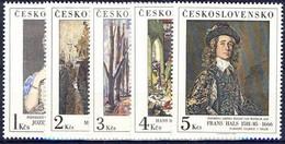 ** Tchécoslovaquie 1985 Mi 2841-5 (Yv 2655-9), (MNH) - Nuevos