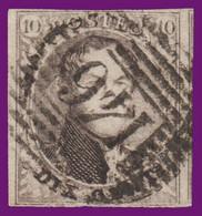 """N°6 - Bien Margé Avec 1 Voisin à Droite -  P.146 - """"FEXHE-LE-HAUT-CLOCHER"""" - 1851-1857 Medaillons (6/8)"""