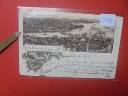 Constantinople En 1895 Léger Pli ! (C414) - Turquie
