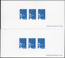 Gravure N° 3570/3575 - Marianne Du 14 Juillet - Documents Of Postal Services