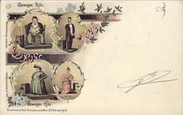 1899-Austria Gewogen Kilo -Gruss, Cartolina Umoristica Viaggiata - Humour