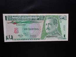 GUATEMALA * : 1 QUETZAL   6.3.1991     P 73b       SUP+ ** - Guatemala