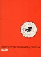 ANNUAIRE - 03 - Département Allier - Année 1975 - Annuaire Officiel Des Postes - 350 Pages - Telefoonboeken