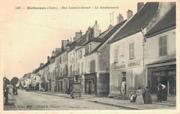 H1109 - BLETTERANS - D39 - Rue Louis Le Grand - La Gendarmerie - Andere Gemeenten