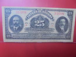 """MEXIQUE 25 Centavos 1915 Série """"A"""" Circuler - Mexico"""