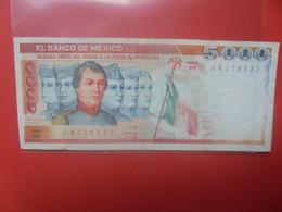 MEXIQUE 5000 PESOS Circuler - Mexico