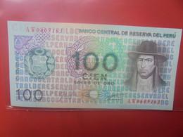 PEROU 100 SOLES 1976 Peu Circuler - Peru