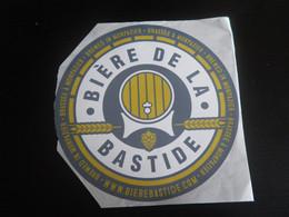 Autocollant BIERE DE LA BASTIDE - MONPAZIER Grand Format - Unclassified