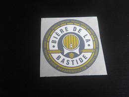 Autocollant BIERE DE LA BASTIDE - MONPAZIER Petit Format - Unclassified