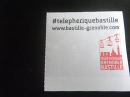 Titre De Transport TELEPHERIQUE GRENOBLE - Unclassified