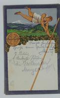 50390 Cartolina Illustrata - Salto Con L'asta - VG 1925 - Atletica