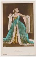 VILMA BANKY  - Actors ROSS VERLAG , Actor, Colored Tinted Vintage Old Photo Postcard - Acteurs