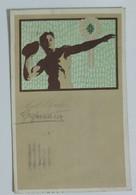 50400 Cartolina Illustrata - Antichi Giochi Olimpici - Lancio Del Peso - VG 1912 - Giochi Olimpici
