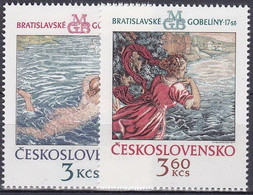 ** Tchécoslovaquie 1975 Mi 2265-6 (Yv 2110-11), (MNH) - Nuevos