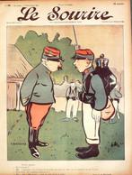Le SOURIRE 1901 098 Bertrand Huard Lourdey Lempereur Villemot Bigot Emery Emery - 1900 - 1949