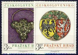 ** Tchécoslovaquie 1975 Mi 2291-2 (Yv 2136-7), (MNH) - Nuevos