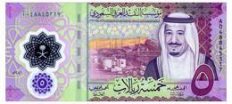 SAUDI ARABIA 5 RIYALS 2020 Pick New Unc - Saudi Arabia