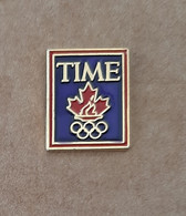 2004 Athens Olympic Games, TIME Media Pin - Jeux Olympiques
