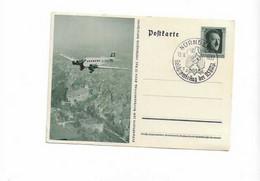 Ganzsachenkarte Aus Nürnberg 1937 - Brieven En Documenten