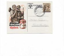 Ganzsachenkarte Aus Berchtesgarden 1941 - Brieven En Documenten