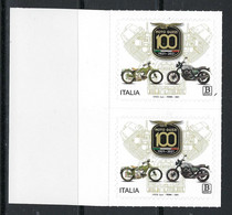 2021 ITALIA ⭐ 100° Moto GUZZI ⭐ Eccellenze Del Sistema Produttivo Ed Economico - COPPIA Adesivi - 2011-...: Ungebraucht