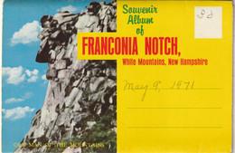 Souvenir Album Of Franconia Notch, New Hampshire - White Mountains